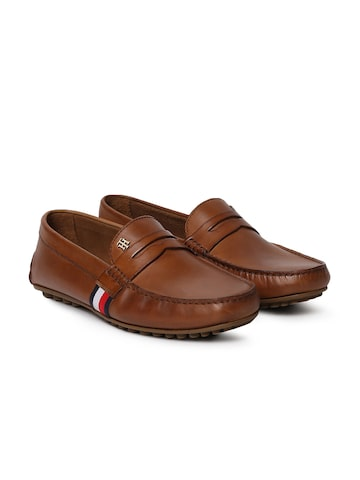 Tommy Hilfiger Men Tan Loafers Tommy Hilfiger Casual Shoes at myntra