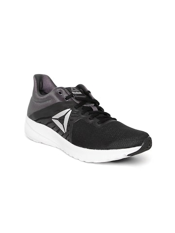 Reebok Women Black & Charcoal Grey OSR Distance 3.0 Running Shoes Reebok Sports Shoes at myntra