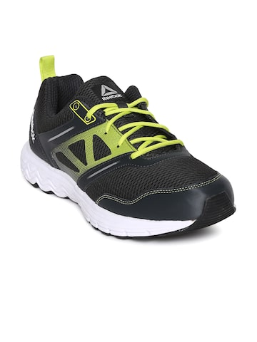 Reebok Men Black FUEL RACE Running Shoes Reebok Sports Shoes at myntra