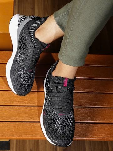 Puma Women Black Ignite Netfit Running Shoes at myntra