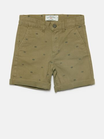 Lee Cooper Boys Brown Printed Chino Shorts Lee Cooper Shorts at myntra