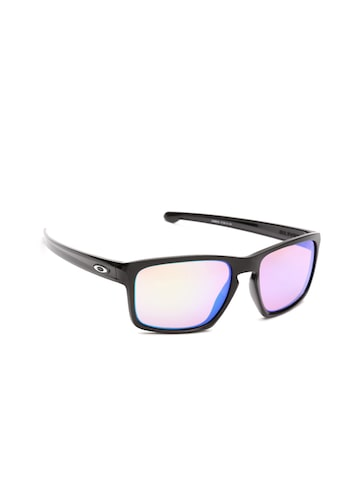 OAKLEY Men Mirrored Rectangle Sunglasses 0OO926292623957 OAKLEY Sunglasses at myntra