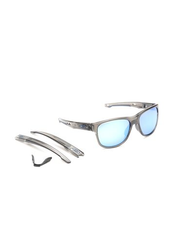 OAKLEY Men Mirrored & Polarised Square Sunglasses OAKLEY Sunglasses at myntra