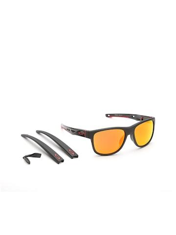 OAKLEY Men Mirrored Square Sunglasses 0OO935993590457 OAKLEY Sunglasses at myntra