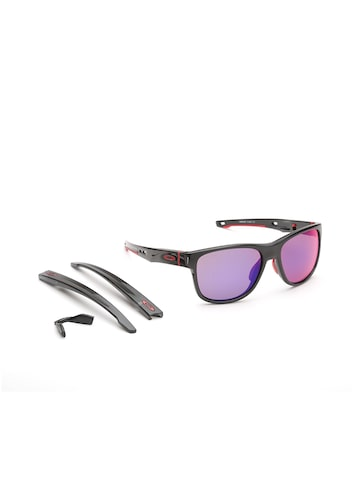 OAKLEY Men Mirrored Square Sunglasses 0OO935993590657 OAKLEY Sunglasses at myntra