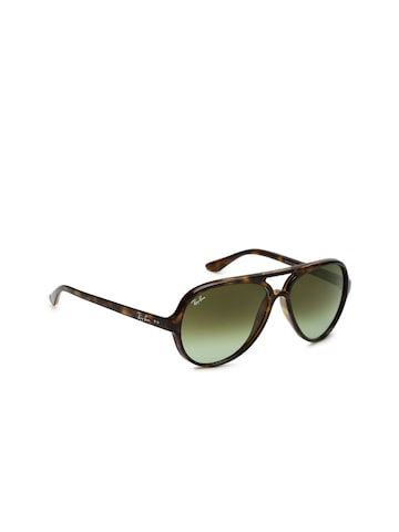 Ray-Ban Men Aviator Sunglasses 0RB4125710/A659 Ray-Ban Sunglasses at myntra