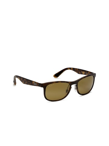 Ray-Ban Men Oval Sunglasses 0RB4263894/A355-894/A3 Ray-Ban Sunglasses at myntra