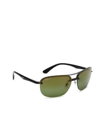 Ray-Ban Men Rectangle Sunglasses 0RB4275CH876/6O63 Ray-Ban Sunglasses at myntra