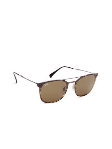 Ray-Ban Men Square Sunglasses 0RB4286710/7355-710/73 Ray-Ban Sunglasses at myntra