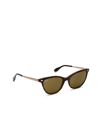 Ray-Ban Women Cateye Sunglasses 0RB436012337354 Ray-Ban Sunglasses at myntra