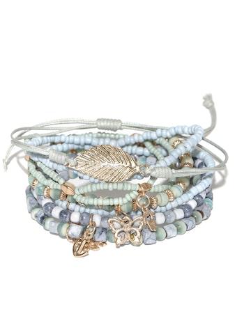 Blueberry Set of 7 Blue Bracelets Blueberry Bracelet at myntra