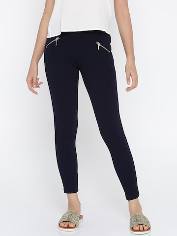 ONLY Women Navy Jeggings ONLY Jeggings at myntra
