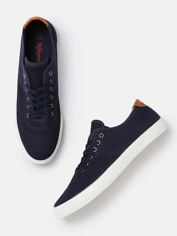 Roadster Men Navy Sneakers Roadster Casual Shoes at myntra