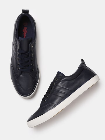 Roadster Men Navy Blue Sneakers Roadster Casual Shoes at myntra
