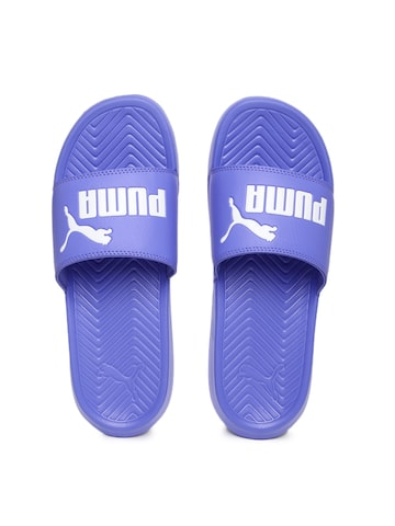 Puma Women Blue Popcat Flip-Flops at myntra