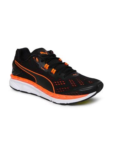 Puma Men Black Speed 1000 IGNITE Running Shoes at myntra