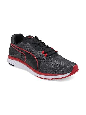 Puma Men Black Speed 300 IGNITE 2 Running Shoes at myntra
