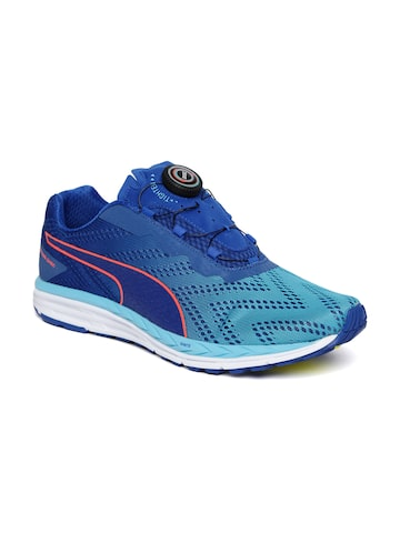 Puma Unisex Blue Speed 500 IGNITE DISC 2 Running Shoes at myntra