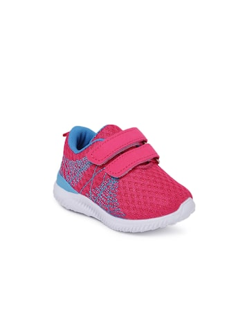 Kittens Girls Pink Sneakers at myntra