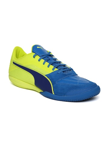 Puma Men Blue Invicto II Football Shoes at myntra