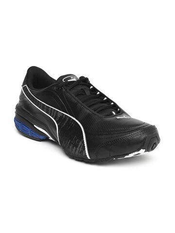 Puma Men Black Tazon III DP Running Shoes at myntra