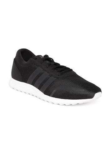 Adidas Originals Men Black LOS ANGELES Sneakers at myntra