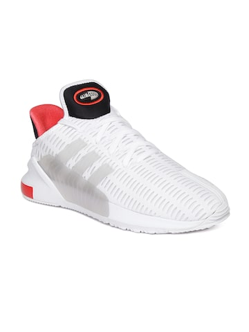 Adidas Originals Men Off-White Climacool Sneakers at myntra