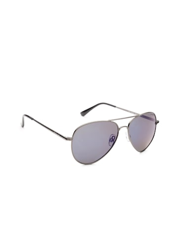 Polaroid Men Polarised Aviator Sunglasses 4139 S3T 58KF Polaroid Sunglasses at myntra