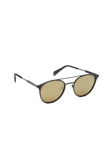 Polaroid Unisex Mirrored Round Sunglasses PLD 2052/S 807 51LM Polaroid Sunglasses at myntra