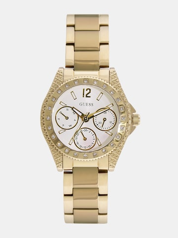 GUESS Women Off-White Analogue Watch W0938L2 at myntra
