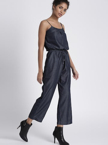 Chemistry Blue Jumpsuit Chemistry Jumpsuit at myntra