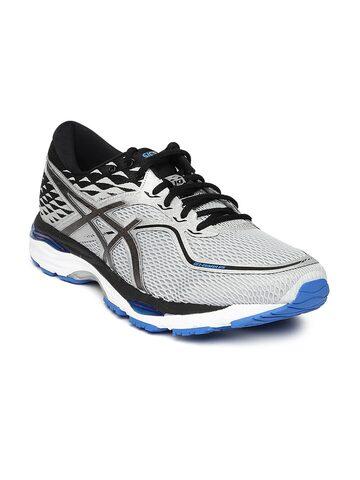 ASICS Men Grey GEL-CUMULUS 19 Running Shoes ASICS Sports Shoes at myntra