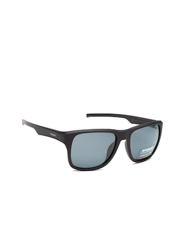 Polaroid Men Square Sunglasses 3019/S DL5 55Y2 Polaroid Sunglasses at myntra