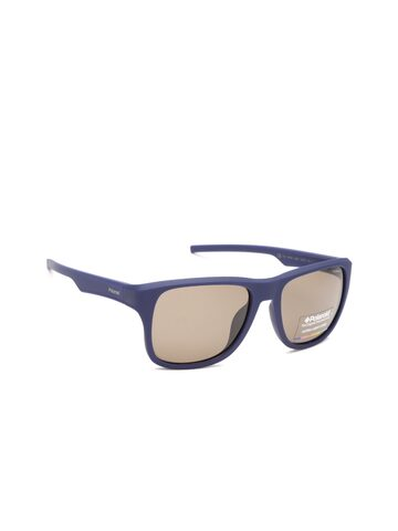 Polaroid Men Square Sunglasses 3019/S JC9 55IG Polaroid Sunglasses at myntra