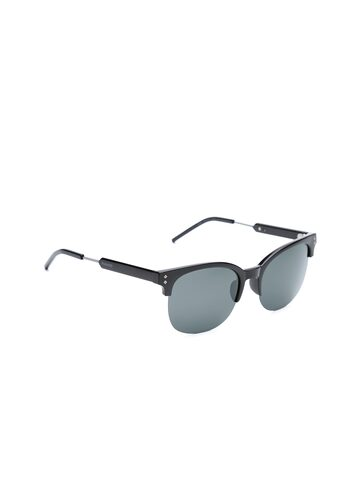 Polaroid Men Half-Rim Polarised Browline Sunglasses 2031/S CVS 54Y2 Polaroid Sunglasses at myntra