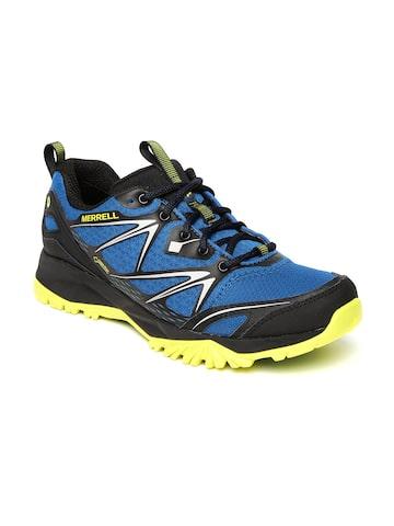 Merrell Men Blue CAPRA BOLT GTX Trekking Shoes at myntra
