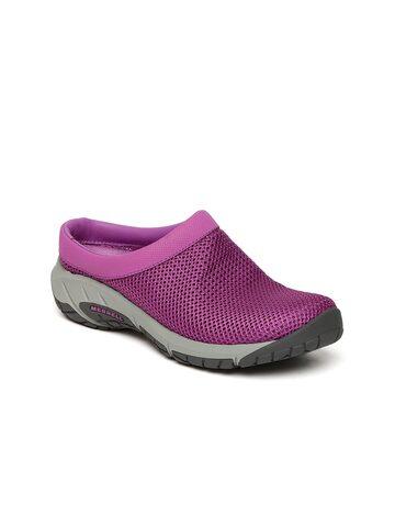Merrell Women Purple Encore Breeze 3 Trekking Shoes at myntra