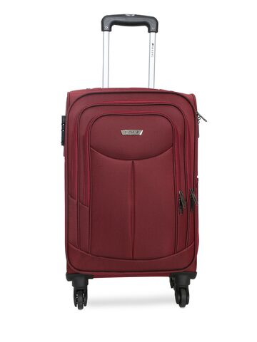 Safari Unisex Red Tergo 4W 55 Cabin Trolley Suitcase Safari Trolley Bag at myntra