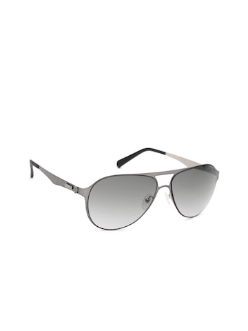 GUESS Unisex Aviator Sunglasses 6902 09B GUESS Sunglasses at myntra