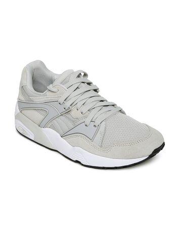 Puma Unisex Grey Blaze Sneakers Puma Casual Shoes at myntra