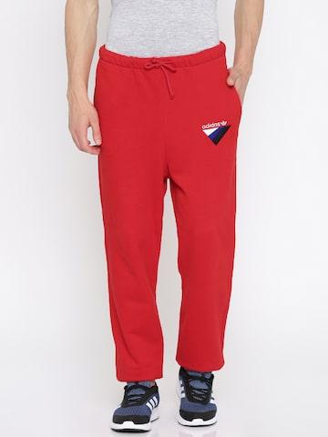 Adidas Originals Red ANICHKOV Joggers Adidas Originals Track Pants at myntra