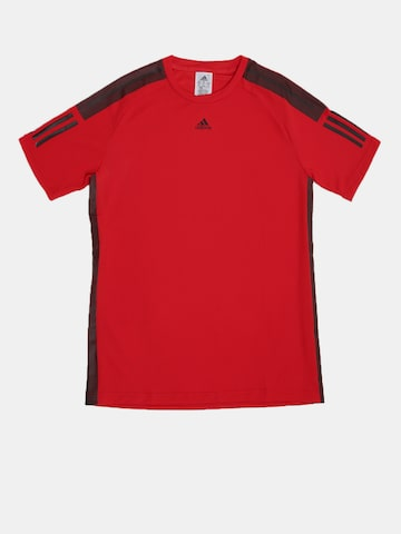Adidas Boys Red Solid Round Neck BARRICADE T-shirt Adidas Tshirts at myntra