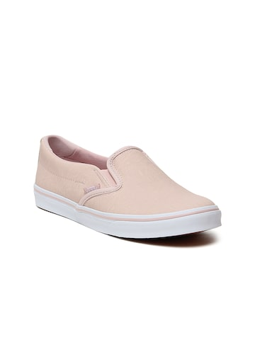 Vans Women Pink Slip-On Asher Low Sneakers Vans Casual Shoes at myntra