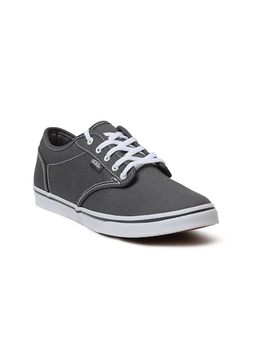Vans Women Grey Atwood Low Sneakers Vans Casual Shoes at myntra