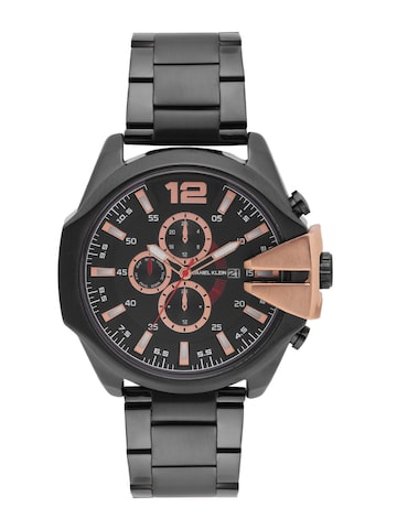 Daniel Klein Men Charcoal Grey Analogue Watch 11007-3 Daniel Klein Watches at myntra