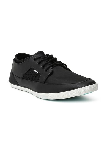 Flying Machine Men Black Anthony Sneakers Flying Machine Casual Shoes at myntra