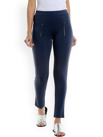 Vero Moda Blue Jeggings Vero Moda Jeggings at myntra