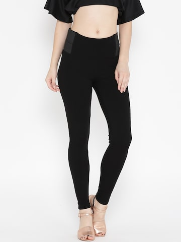 ONLY Black Treggings ONLY Jeggings at myntra