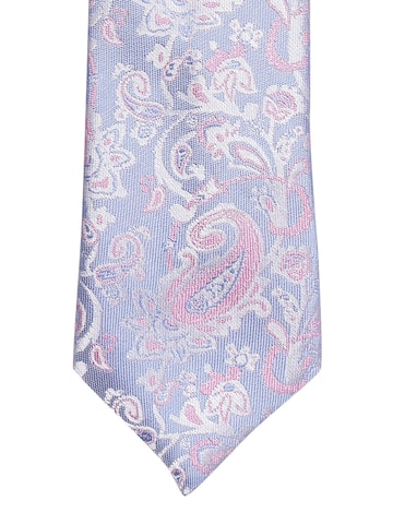 INVICTUS Blue & Pink Paisley Woven Design Tie INVICTUS Ties at myntra