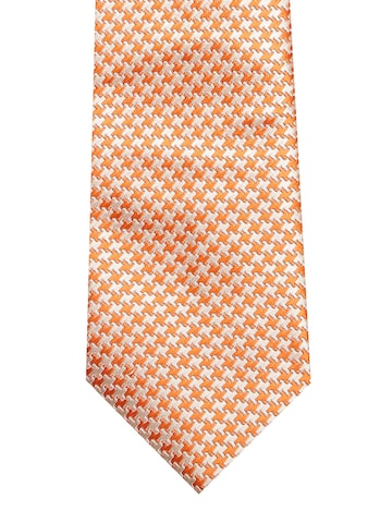 INVICTUS Men Orange & Off-White Patterned Tie INVICTUS Ties at myntra